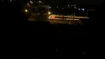 Rytinis traukinio incidentas Lentvaryje