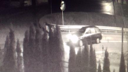 Kauno policijos ieškomas vairuotojas ir jo automobilis