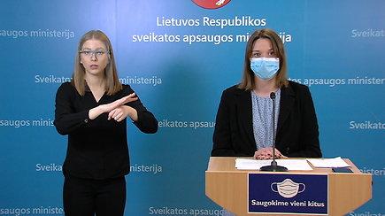 Šiandien infekcijų užfiksuota daugiau: naujausia informacija iš SAM