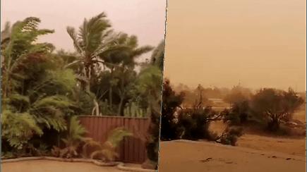Gamta nerimsta: Australijai smogė stipriausia dešimtmečio audra