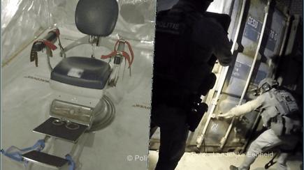 Šokiruojantis policijos radinys: aptiko slaptus kankinimų kambarius