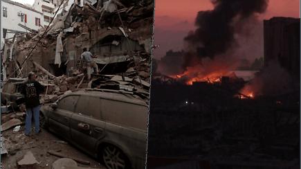 Košmarą Beirute išgyvenę žmonės laukia žinių apie artimuosius – smūgio banga tiesiog sviedė visus į orą