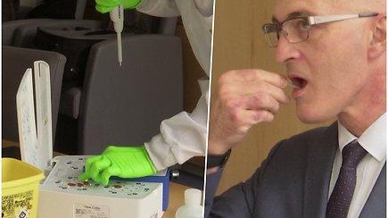 Prancūzijos mokslininkai siūlo proveržį: COVID-19 testą pacientas galėtų pasidaryti pats, o rezultatai paaiškėtų per 40 min.