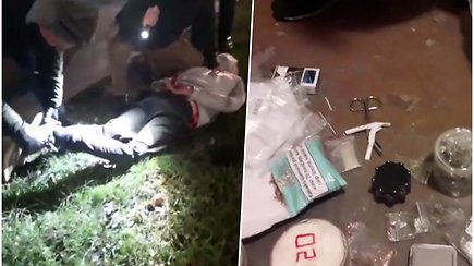 Kaune policija sučiupo 8 asmenis, platinusius ir pirkusius narkotines medžiagas