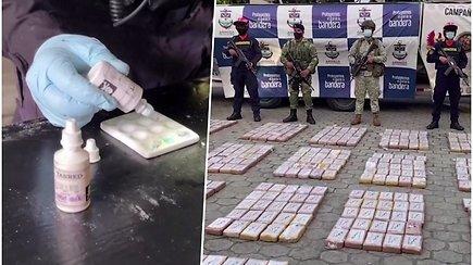 Aptiko kokaino laboratoriją: konfiskuota 847 kg narkotikų ir povandeninis laivas