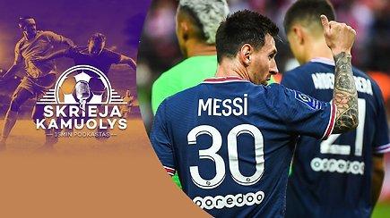 """""""Skrieja kamuolys"""": L.Messi debiutas, ginčas dėl CR7, """"Žalgiris"""" ir A lyga, ČL grupės bei kovos Europoje"""
