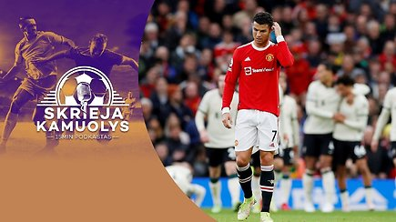 """Skrieja kamuolys"": LFF taurė, ""Banga"", Čempionų lyga, ""Man Utd"" fiasko, ""El Clasico"" ir baudinys Turine"