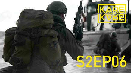 Kaip atrodo greitas NATO pajėgų dislokavimas: kova su grėsmėmis jūroje, sausumoje ir ore