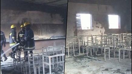 Nigerio sostinės mokykloje užsidegė mokykla – liepsnoje žuvo apie 20 vaikų