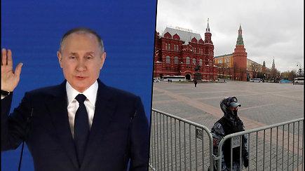 Kol V.Putinas skaitys metinį pranešimą, A.Navalno šalininkai protestuos visoje Rusijoje