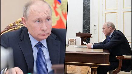 V.Putinas apibūdino JAV prezidentą J.Bideną: dirbant su juo reikia būti labai dėmesingam