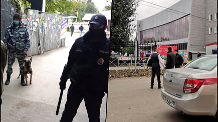 Šaudynės Rusijos universitete – žuvo mažiausiai 8 žmonės