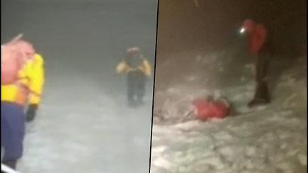 Gelbėjimo operacija ant Elbruso – 2 alpinistai mirtinai sušalo, o dar 2 neteko sąmonės ir mirė