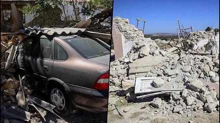 Turistų mėgiamą Kretą supurtė stiprus žemės drebėjimas – siekė net 6,3 balo