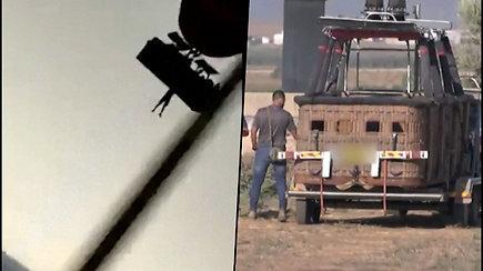Pareigūnai ant kelio rado žmogaus kūną – vyras iškrito iš oro baliono krepšio