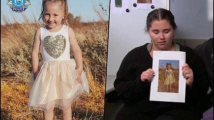 Australija siūlo 1 mln. dolerių atlygį už informaciją apie dingusią keturmetę – galėjo būti pagrobta