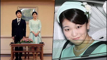 Japonijos princesės Mako vestuvės – ištekėjouž buvusio bendramokslio ir atsisakė titulo