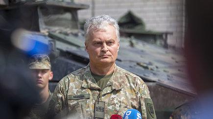 G.Nausėda: padėtis yra pakankamai rimta ir neieškokime priešų šalies viduje