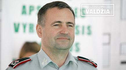Išbandymas valdžia: policijos generalinis komisaras Renatas Požėla