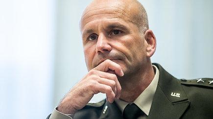 JAV karinių pajėgų Europoje ir Afrikoje vado generolo Ch.G.Cavolio komentarai
