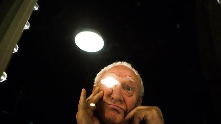 Kino aktorius Gediminas Girdvainis: užfiksuota šimtai charizmatiškų vaidmenų atlikėjo veido mimikų