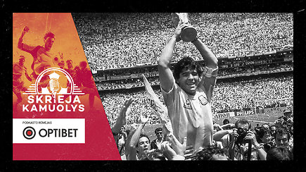 """Specialus """"Skrieja kamuolys"""": El Camino de San Diego Maradona"""