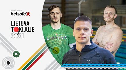 """""""Lietuva Tokijuje"""": Dano Rapšio startas ir kodėl lenktynės anksti baigėsi Lietuvos dviratininkui"""