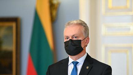 Prezidento G.Nausėdos komentarai vakcinų tiekimo klausimais