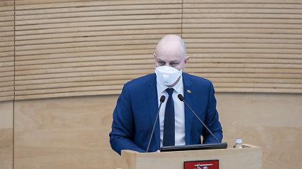 A.Veryga apie COVID-19 infekciją Lietuvoje ir tolimesnius veiksmus
