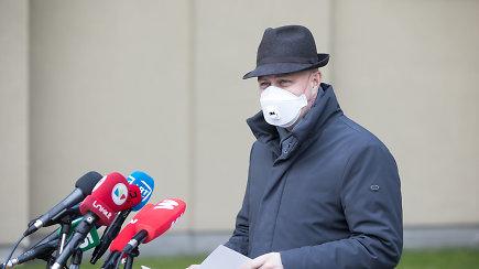 Spaudos konferencija iš Seimo – A.Veryga apie situaciją dėl koronaviruso