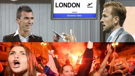 """""""Vieni vartai"""": sudaužytos anglų širdys, kroatai finale ir įspūdingas fanų šėlsmas"""