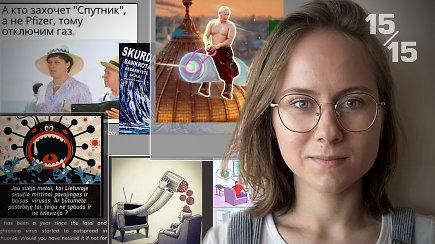 15/15: V.Putinas su vakcina ant kupros – kaip memai skleidžia dezinformaciją?