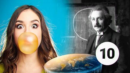 TOP 10 pasaulio mitų: pasitikrinkite, ar netikite plačiai paplitusiais melais