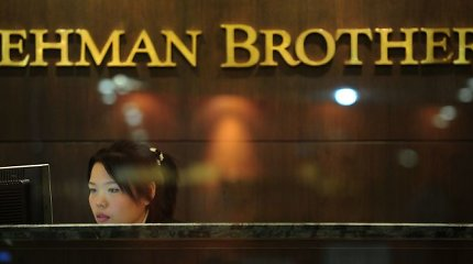 """EBPO vadovas: ekonomistai turėjo išprognozuoti """"Lehman Brothers"""" griūtį"""