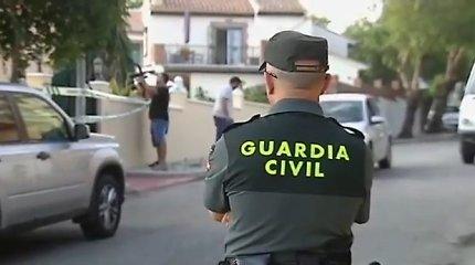 Sulaikomas Ispanijoje lietuvis priešinosi – sulaužė pareigūnų automobilio dureles
