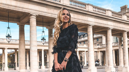 """E.Anusauskaitė-Young pristatė šventinio įvaizdžio naujienas: """"Ji moka pateikti drabužį"""""""