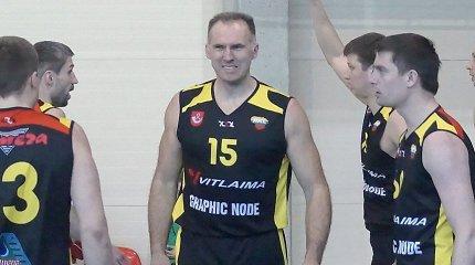 """Ilgametis """"Sakalų"""" krepšininkas Rolandas Matulis žais Ignalinoje"""