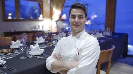 """""""Michelin"""" žvaigždutę pelnęs Pasquale Palamaro: """"Virtuvėje turi nuolat mokytis ir mokyti"""""""