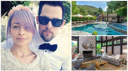 Šeimos namus parduodantys Nicole Richie ir Joelis Maddenas paskatino kalbas apie byrančią santuoką
