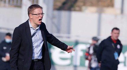 Sunki pradžia: V.Dambrausko ekipa Čempionų lygos atrankoje nepalaužė slovėnų