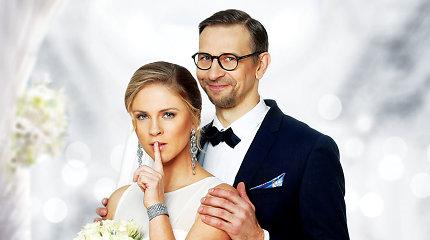 Edita Užaitė ir Nerijus Gadliauskas filmavimo aikštelėje žengė prie altoriaus