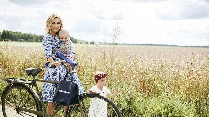 """Indrė Kavaliauskaitė-Morkūnienė: """"Kartais būti mama reiškia būti labai pavargusia"""""""