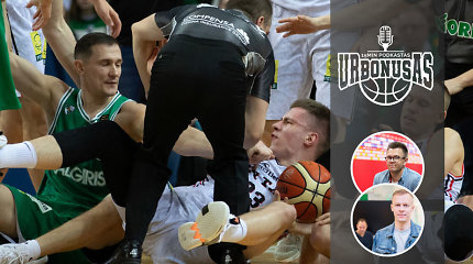 """""""urBONUSas"""": diskvalifikacija P.Jankūnui, """"Ryto"""" talentas ir I.Brazdeikis rinktinėje"""