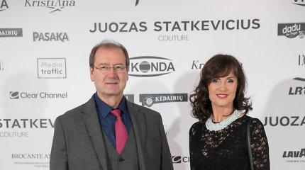 Buvę sutuoktiniai Viktoras Uspaskichas ir Jolanta Blažytė į Juozo Statkevičiaus šou atvyko drauge