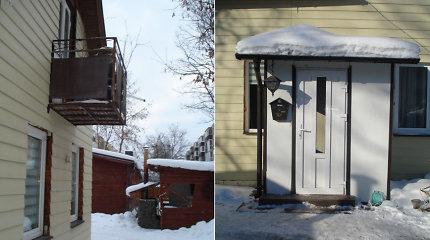 Netikėtai į panevėžiečio namus pasibeldę Statybos inspekcijos pareigūnai primena: norėdami pagražinti namus, pirmiausia pasirūpinkite leidimu