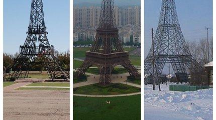 Nuo Teksaso kaubojų miestelio iki Sibiro kaimo: 9 Eifelio bokšto kopijos, apie kurias galbūt nežinojote