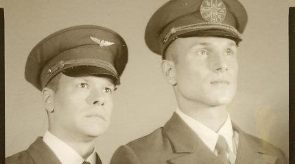 Vaidas Baumila ir Jokūbas Bareikis įsiamžino 1930-ųjų analoginėse fotografijose