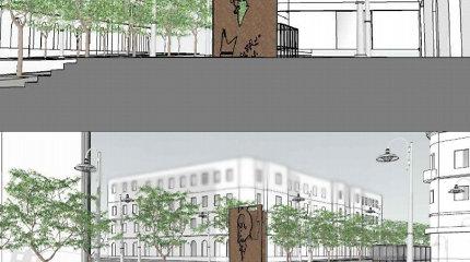 Vilnius stabdo, Palanga priima: kurortas nori pastatyti čia poilsiaudavusio prezidento A.Smetonos paminklą