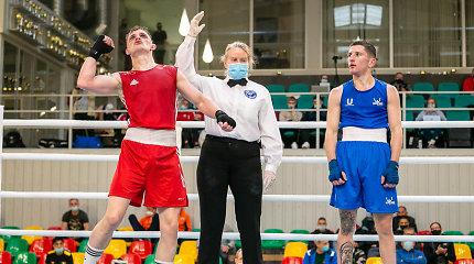 Algirdo Šociko turnyro finaluose kovos keturi Lietuvos boksininkai