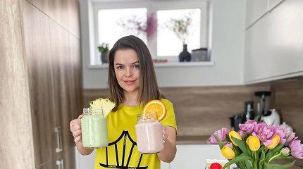 Norisi pieno kokteilio? Indrė Trusovė rekomenduoja išmėginti kefyro kokteilius